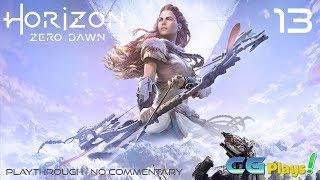 Horizon Zero Dawn Playthrough (No Commentary) #13 Main Story War Chief's Trail
