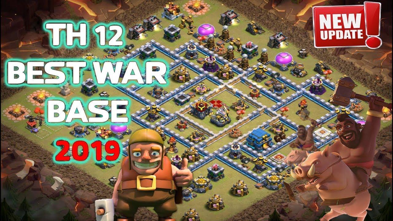 Unbeatable Best Th12 War Base 5