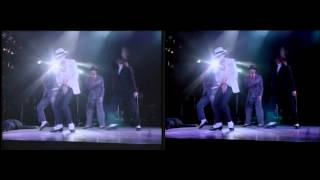 Michael Jackson - Smooth Criminal Live Bucharest 1992 (Remastering Quality Comparaison)