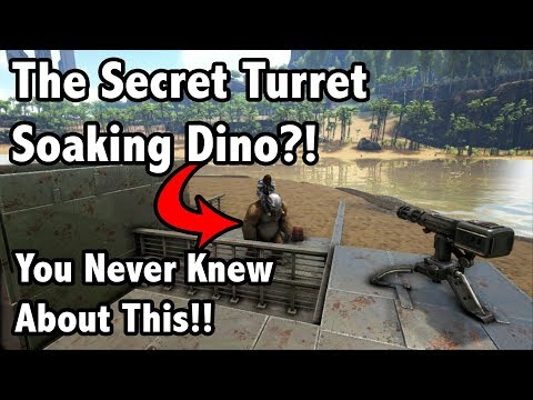 Ark Insight -=- The Secret TURRET SOAKING CREATURE You Never Knew About!!