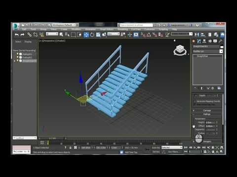 Blowing up objects in Autodesk 3ds max by Internet Courses