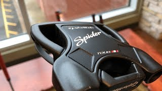 TaylorMade Spider Tour Black Dustin Johnson's Putter Review Test Drive