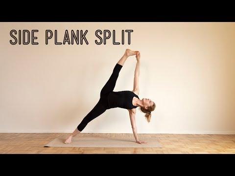 Yoga Asana Lab: Side Plank Split (Vashishta Padanghustasana)
