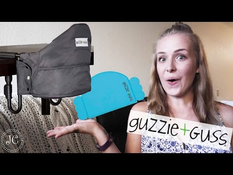 GUZZIE + GUSS PORTABLE HIGHCHAIR REVIEW