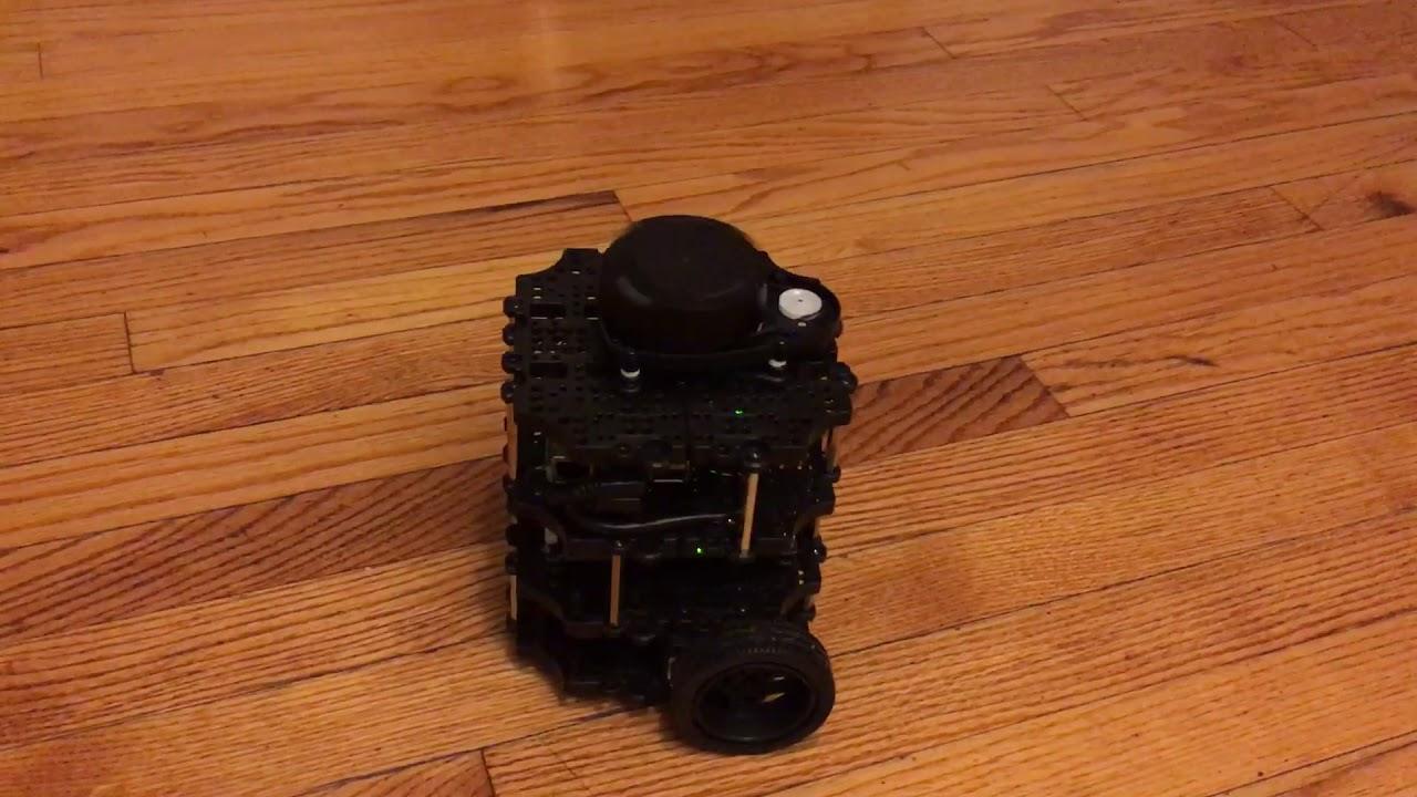 TurtleBot3: First explorations | Thomas Deneuville