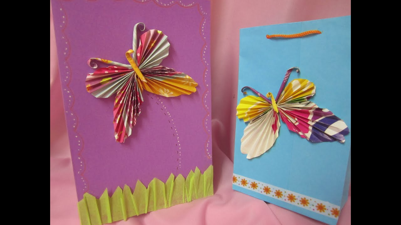 Tutorial mariposas de papel youtube - Papel autoadhesivo para decorar ...