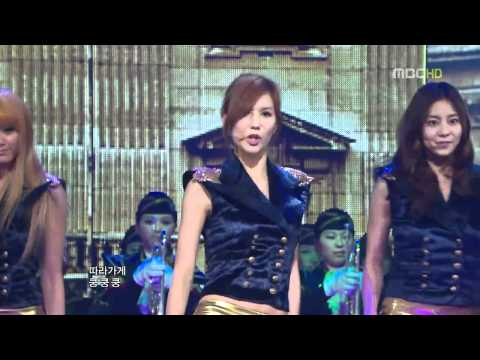101231 After School - Bang! (MBC Gayo Daejun)