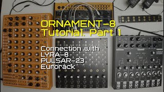 ORNAMENT-8 Tutorial Part 1 (basic connection)