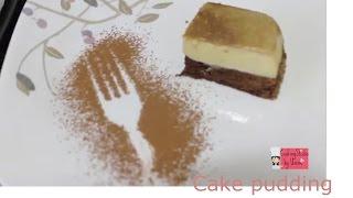 Cake Pudding    How to make Cake pudding  cake pudding bangladeshi style