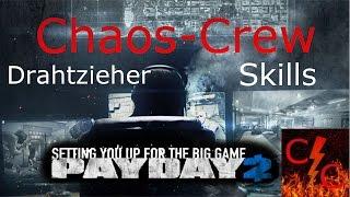 Payday 2 Tutorial Skills - Drahtzieher