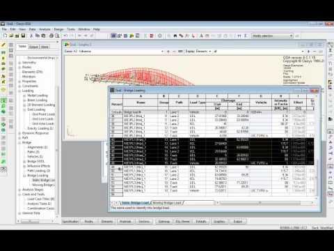 Bridge Analysis with Oasys GSA (Oasys Software Webinar)