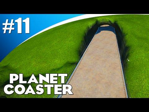 PAD DOOR DE BERGEN! (Planet Coaster Alpha #11)