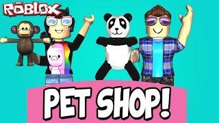 MAKING A PET SHOP! -ROBLOX (Pet Shop Tycoon)