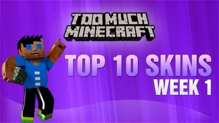 Minecraft: Top 10 Skins Week 1 w/ CobbeledMosse