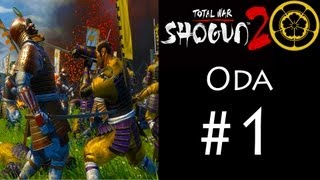 Shogun 2 - Oda Campaign (Legendary) - Part 1: The Masters Of Ashigaru