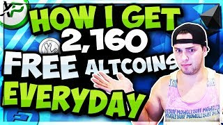 How I Get 2,160 FREE Crypto Coins Every Day With Staking!