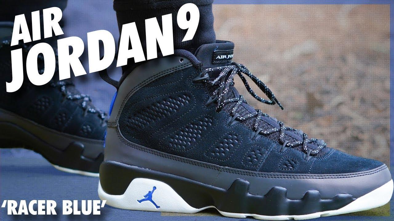 Air Jordan 9 'Racer Blue' - YouTube