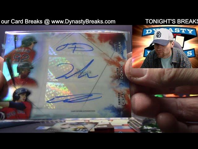 2021 Bowman Sterling Baseball Card 6 Box Half Case Break #3   Sports Cards