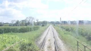 Führerstandsmitfahrt von Bierbaum nach Fürstenfeld (Thermenlandbahn)