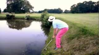 Drunk Golf Trick Shot