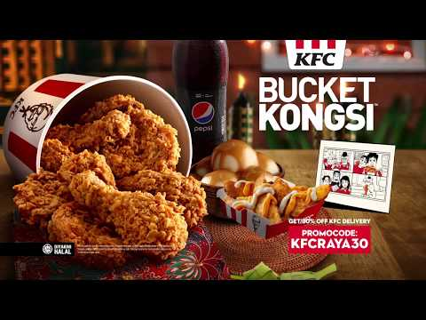 KFC Bucket Kongsi - It's Always Better to Share from YouTube · Duration:  20 seconds