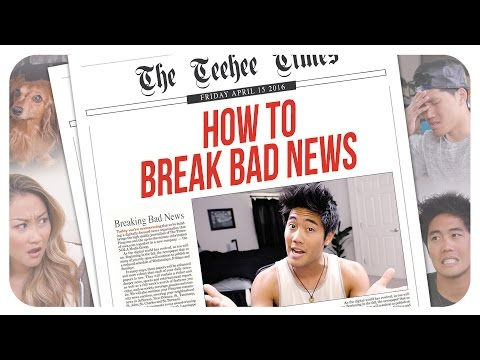 Thumbnail: How To Break Bad News!