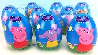 peppa pig surprise eggs disney princess paw patrol tmnt toys learn colors play doh hands feet kids