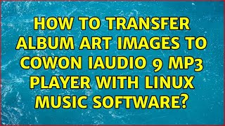 How to transfer album art imag…