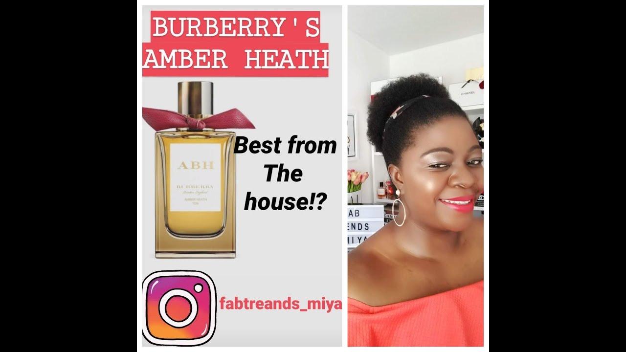 BURBERRY'S AMBER HEATH BY MAISON FRANCIS KURKDJIAN |THE BEST FROM THE HOUSE, BEAUTIFUL AMBERMAZING!