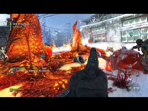 Call Of Duty: Ghosts - EXTINCTION NIGHTFALL GAMEPLAY! New Alien Mode (COD Ghost Night Fall)