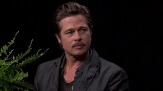 Zach Galifianakis Asks Brad Pitt About Jennifer Aniston
