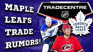 Maple Leafs Trade Rumors! (Jan 16th)