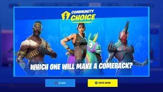 Brand New *SKIN VOTING* System in Fortnite