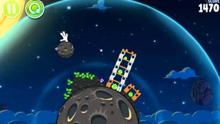 PURPLE BIRDS :D - Angry Birds in SPACE #7