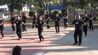 เต้นประกอบ เพลงค่านิยม 12 ประการ (ทำนองรักริงโง) กศน.อำเภอกู่แก้ว จังหวัดอุดรธานี