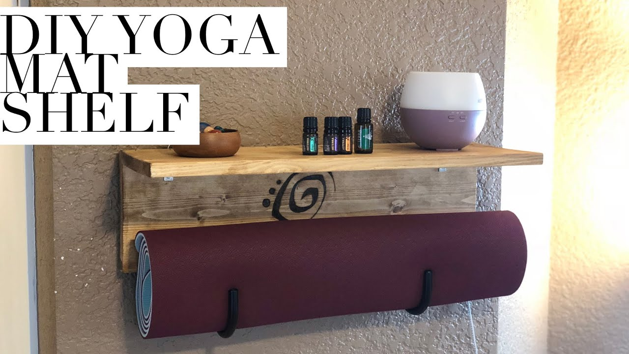 11 Yoga Mat Storage Ideas