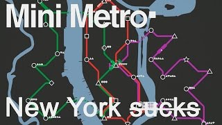 Mini Metro Gameplay Part 2 (+GIVEAWAY) - NEW YORK SUCKS (Mini Metro Full Release)