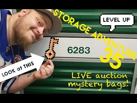 STORAGE ADVENTURE 35: Mystery bags from a LIVE Auction!