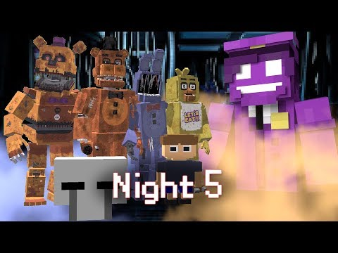 MINE Nights at Freddy's ORIGINS | Night 5 | Five Nights at Freddy's Minecraft Roleplay