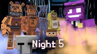 MINE Nights at Freddy's ORIGINS | Night 5 | Five Nights at Freddy's Minecraft Roleplay