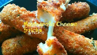 Easy Home Made Mozzarella Cheese Sticks