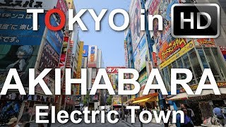 Japan: Tokyo Travel Video, guide Part 2(Ride The Metro From Tokyo to Chiba Pre/ture and Akihabara )