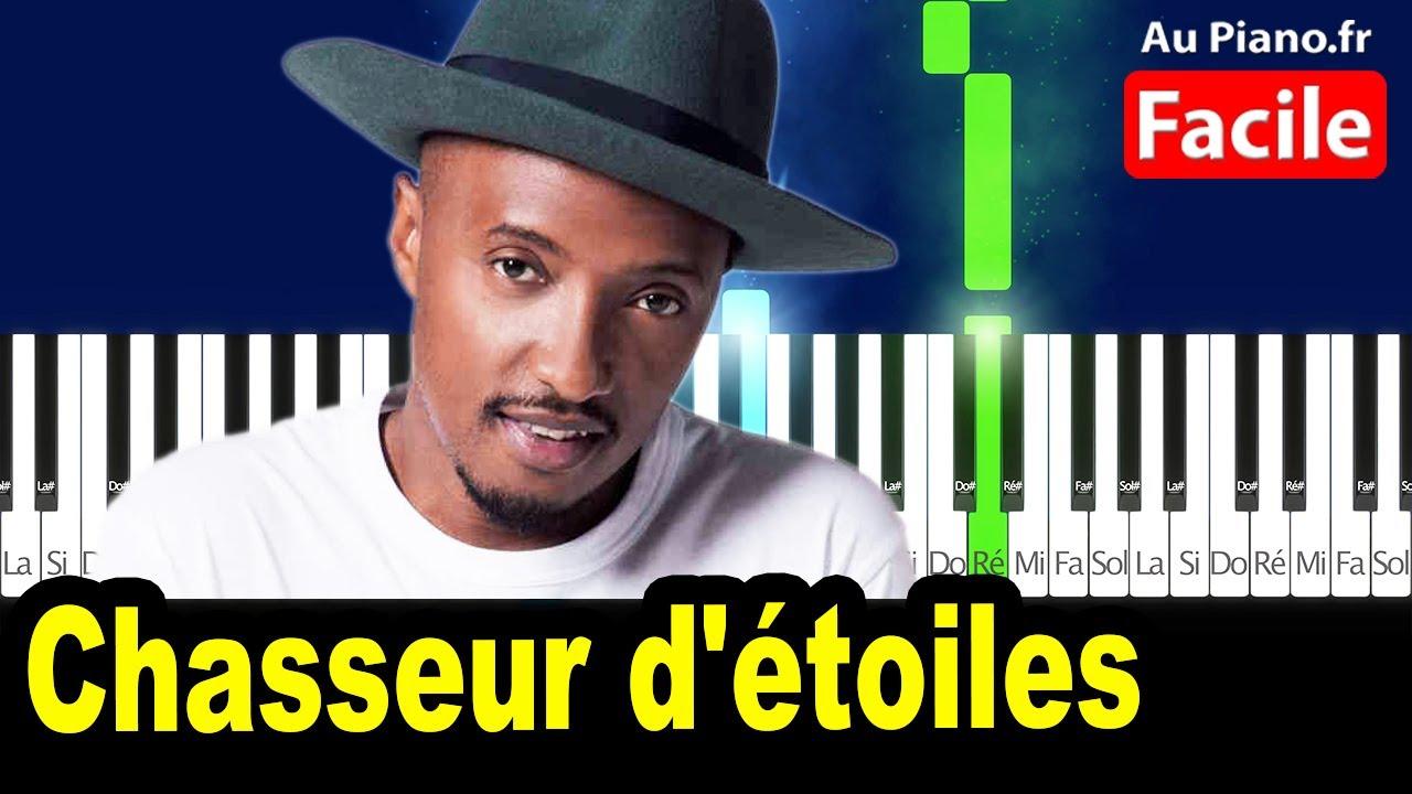Soprano - Chasseur d'étoiles - Piano Facile Cover Tutorial Lyrics