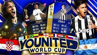 FIFA 18: YOUnited WORLD CUP Viertelfinale 🏆🔥  Smexy vs IamTabak - Argentinien vs Kroatien