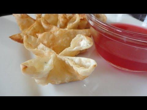 How to Make Crab Rangoon - Restaurant Style
