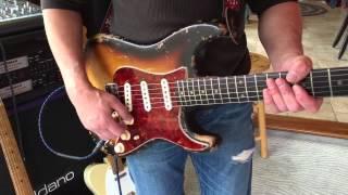 1963 Fender Strat Eddie Vegas