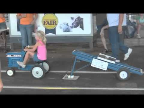 Pedal Tractor Pull YouTube – Garden Tractor Pulling Sled Plans