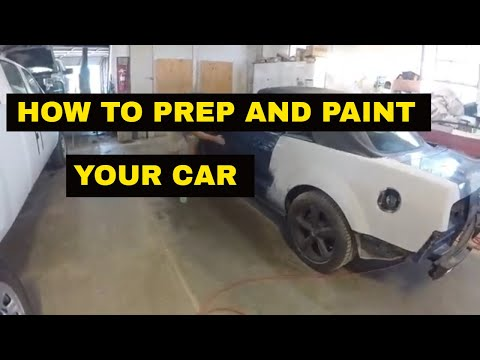 DIY How to prep a car for paint