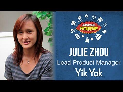 [WMD 2015] Yik Yak, Julie Zhou