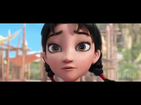 中国神话妈祖题材!国产动画电影《林默》首曝片段-lin-mo-mazu,-sea-goddess,-3d-movie-2021,
